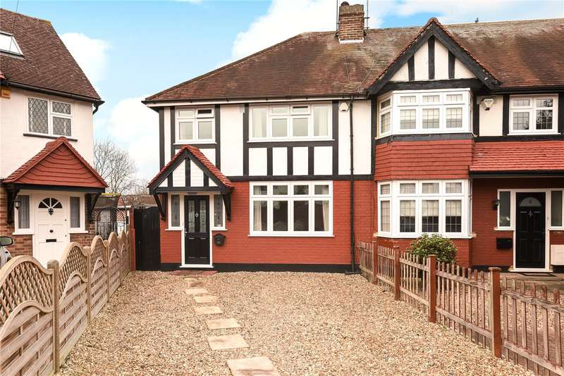 3 Bedrooms End Of Terrace House for sale in Cherry Close, Ruislip, Middlesex, HA4
