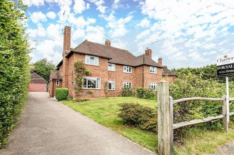 3 Bedrooms Semi Detached House for sale in Tilford, Farnham, Surrey