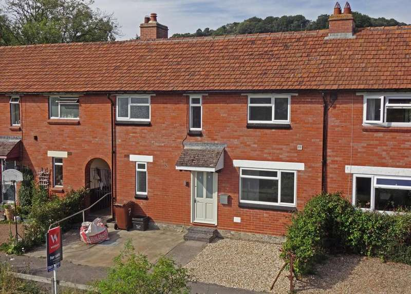 3 Bedrooms Terraced House for sale in Higher Millhayes, Hemyock