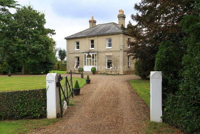 5 Bedrooms Detached House for sale in OVERLOOKING THE WAVENEY VALLEY