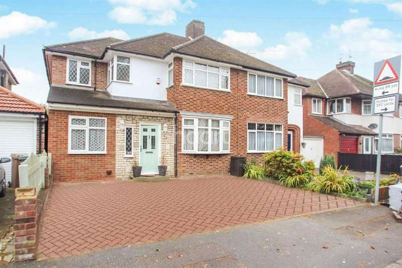 5 Bedrooms Semi Detached House for sale in Stopsley