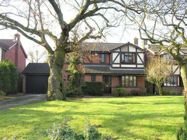 4 Bedrooms Detached House for sale in Bluebell Road,Upper Stonnall,Walsall