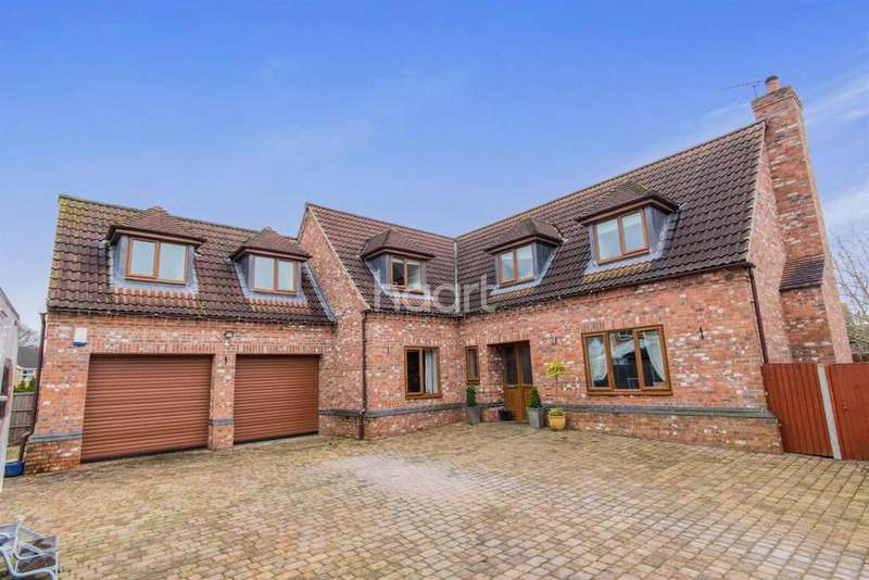 4 Bedrooms Detached House for sale in Blackthorn Court, South Hykeham, Lincoln, LN6