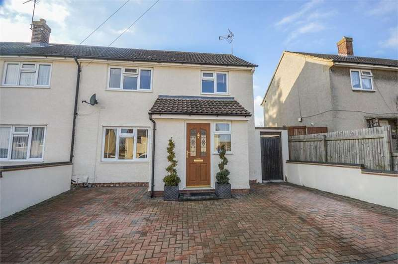 3 Bedrooms Semi Detached House for sale in Coronation Road, BISHOP'S STORTFORD, Hertfordshire