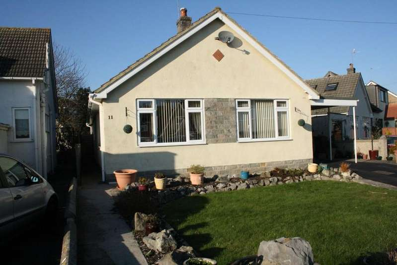 3 Bedrooms Detached Bungalow for sale in Laurel Drive, Uphill, Weston-super-Mare