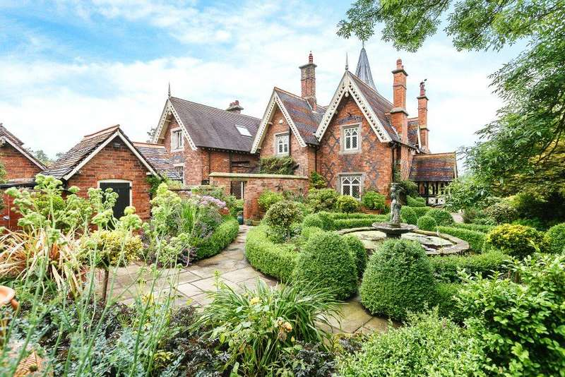 4 Bedrooms Detached House for sale in Spurstow, Tarporley, Cheshire
