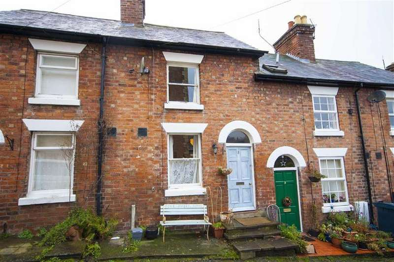 2 Bedrooms Terraced House for sale in Hatfield Terrace, Mountfields, Shrewsbury, Shropshire