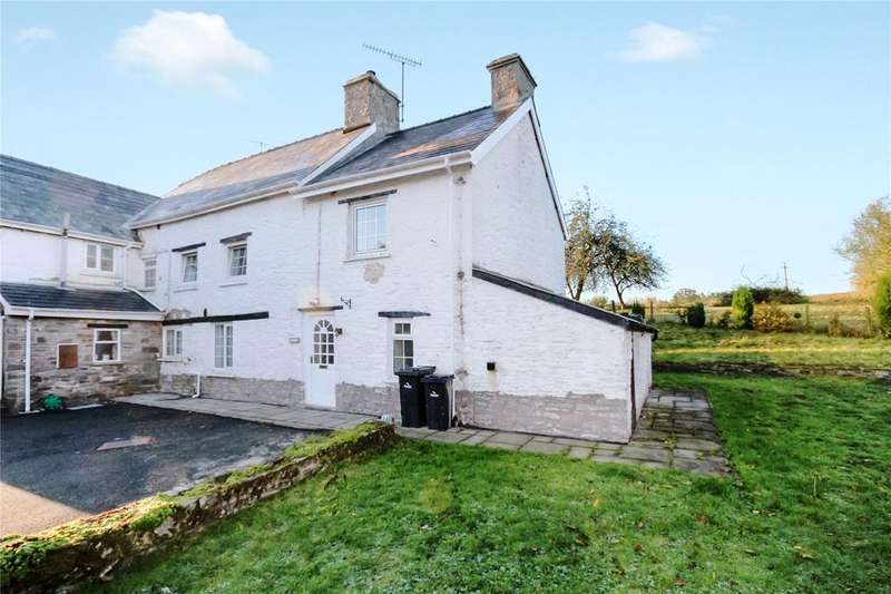 4 Bedrooms Semi Detached House for sale in Llandefalle, Brecon, Powys