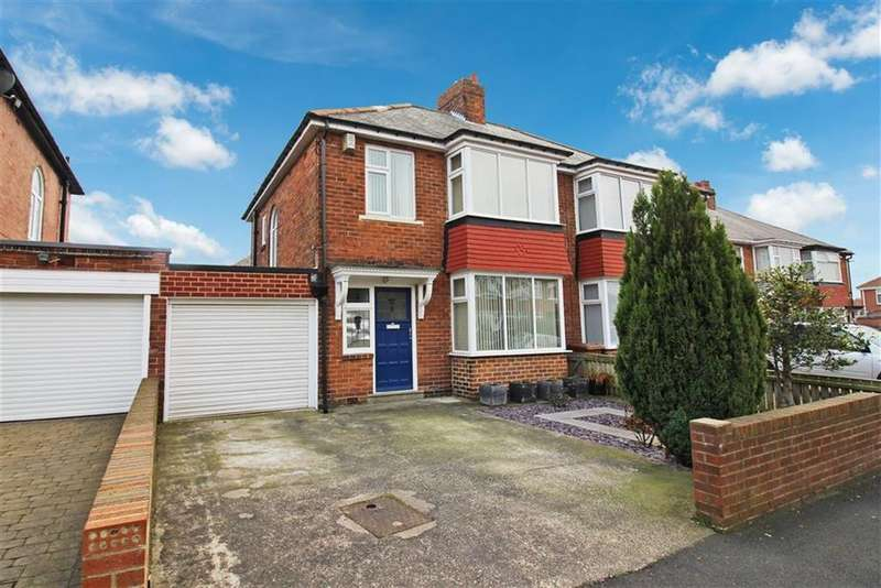 3 Bedrooms Semi Detached House for sale in Teesdale Gardens, Newcastle Upon Tyne, NE7