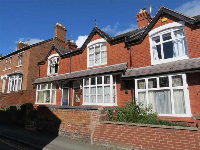 3 Bedrooms Terraced House for sale in Mount Street, Mountfields, Shrewsbury, Shropshire