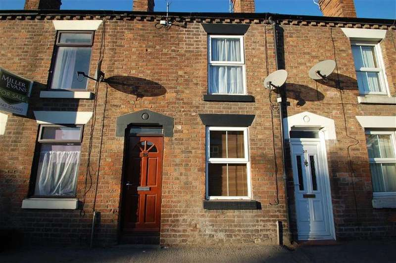 2 Bedrooms Terraced House for sale in Ellesmere Road, Greenfields, Shrewsbury