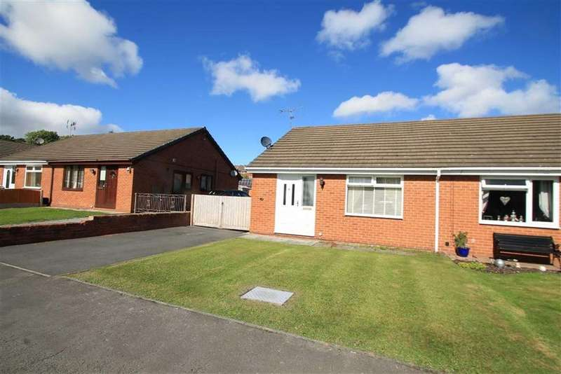 2 Bedrooms Semi Detached Bungalow for sale in Pont Yr Afon, Penycae, Wrexham