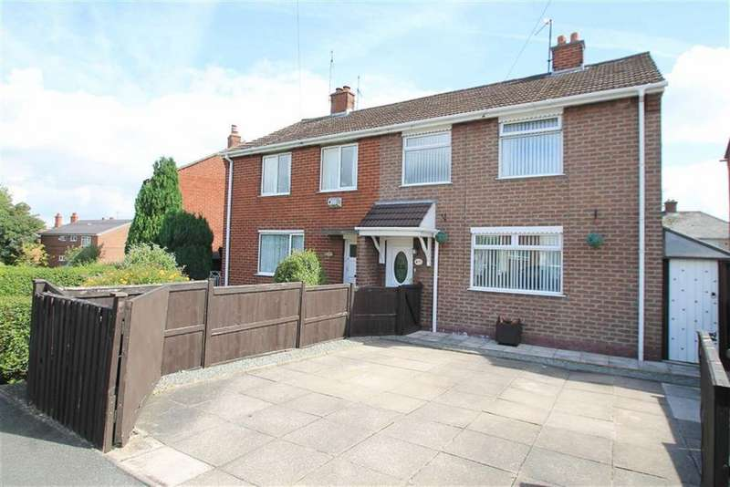 3 Bedrooms Semi Detached House for sale in Fenwick Drive, Wrexham