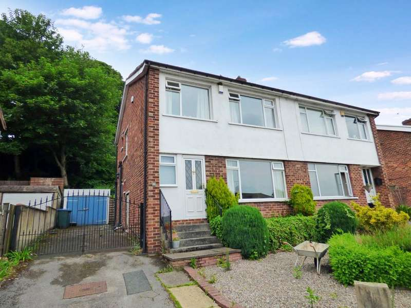 3 Bedrooms Semi Detached House for sale in Lansdowne Close, Baildon