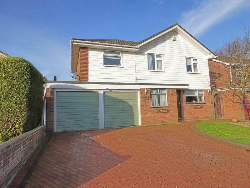 4 Bedrooms Detached House for sale in Rempstone Road, Merley