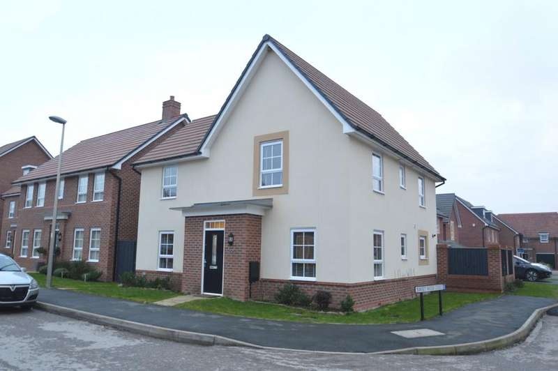 4 Bedrooms Detached House for sale in Silverlea Road, Lostock Gralam