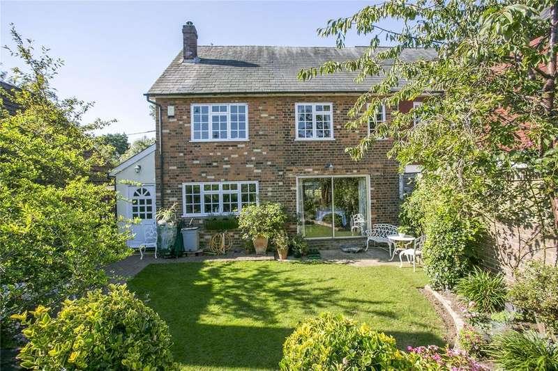 4 Bedrooms Semi Detached House for sale in Windmill Road, Weald, Sevenoaks, Kent, TN14
