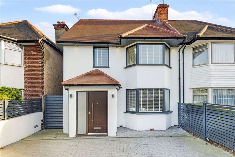 3 Bedrooms Semi Detached House for sale in The Vale, London, NW11