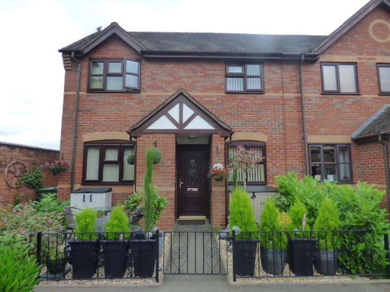 2 Bedrooms End Of Terrace House for sale in Forge Road, Rugeley