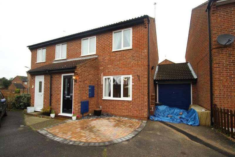 3 Bedrooms Semi Detached House for sale in Maraschino Crescent, Colchester, CO2