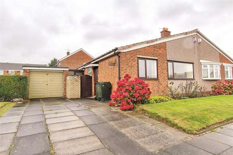 2 Bedrooms Semi Detached Bungalow for sale in Rievaulx Drive, Acklam Hall