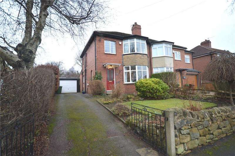 3 Bedrooms Semi Detached House for sale in The Lane, Alwoodley, Leeds