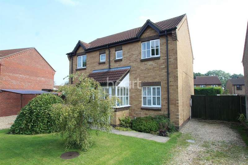 2 Bedrooms Semi Detached House for sale in The Oaklands, Wragby, LN8