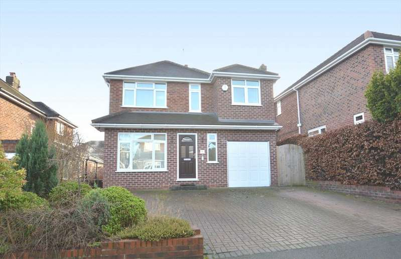 4 Bedrooms Detached House for sale in Grove Park, Knutsford
