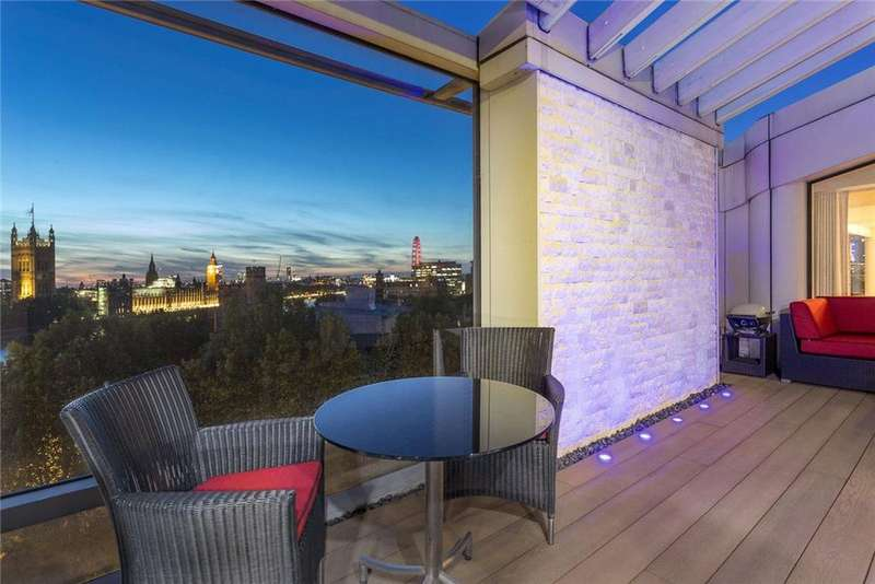 4 Bedrooms Penthouse Flat for sale in Parliament View, 1 Albert Embankment, Lambeth, SE1