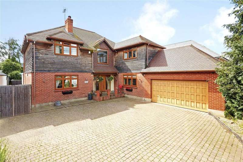 5 Bedrooms Detached House for sale in Wrotham Road, Meopham, Kent, DA13