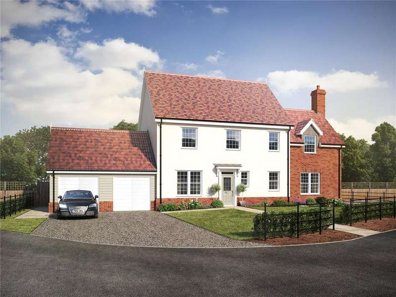 4 Bedrooms Detached House for sale in Plot 13 - Straight Road, Foxhall, Ipswich, Suffolk, IP3