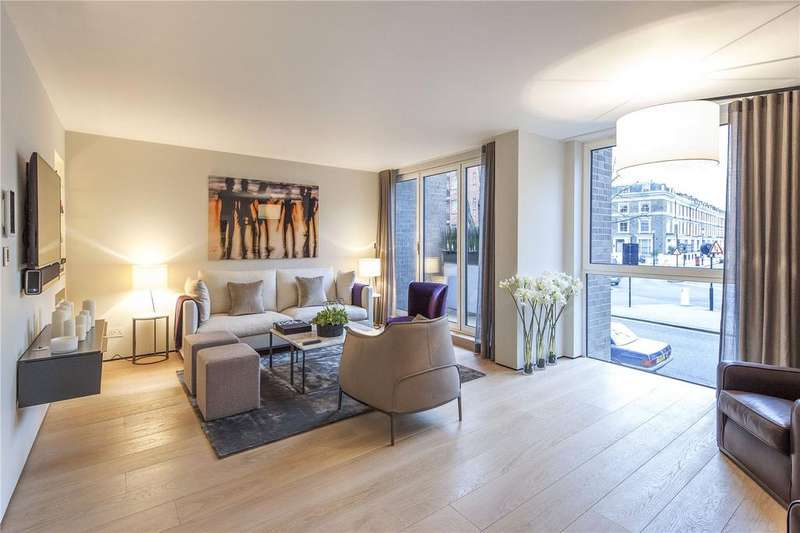 3 Bedrooms Flat for sale in Buckley House, 96 Addison Road, Kensington, London, W14