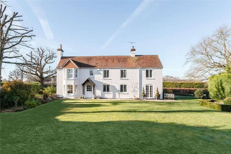 5 Bedrooms Detached House for sale in Bradfield, Reading, West Berkshire