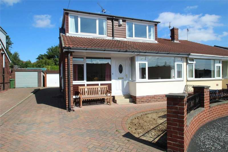 4 Bedrooms Semi Detached Bungalow for sale in Acacia Close, Townville, Castleford, WF10