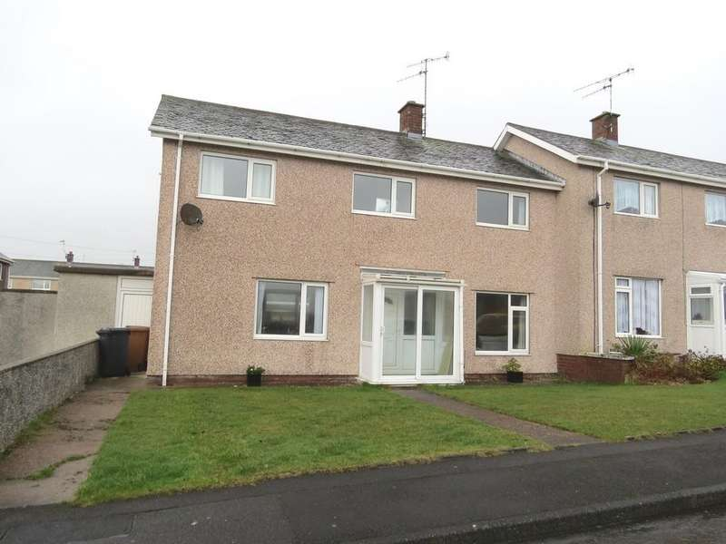 3 Bedrooms End Of Terrace House for sale in Coniston Avenue, Seascale, Cumbria