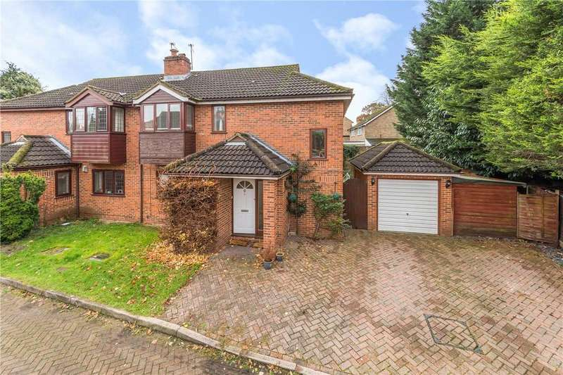 4 Bedrooms Semi Detached House for sale in Ryall Close, Bricket Wood, St. Albans, Hertfordshire