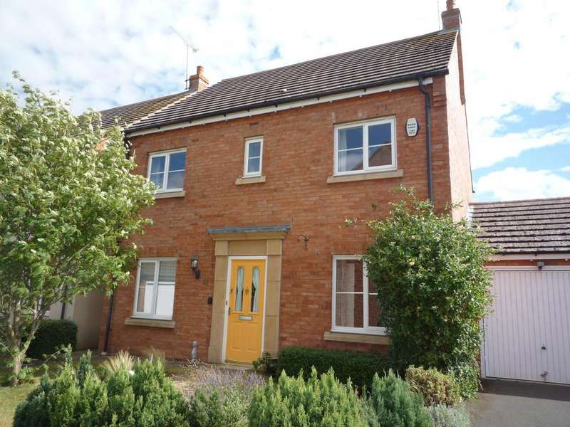 4 Bedrooms Detached House for sale in Signal Road, Shipston-On-Stour