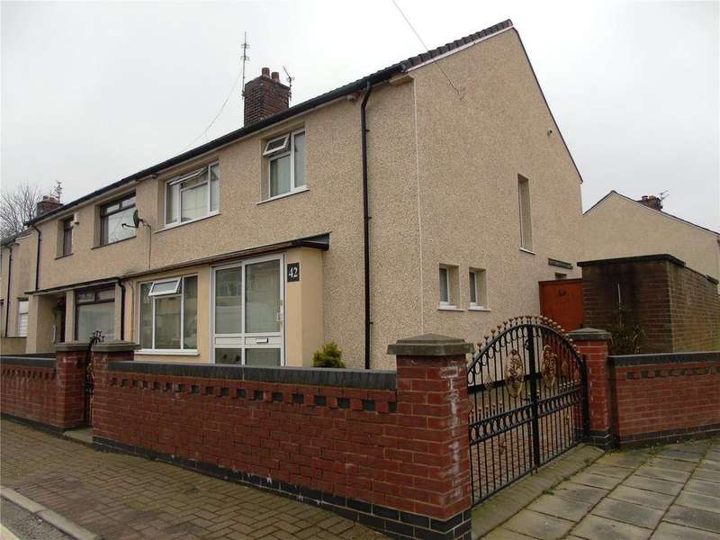 4 Bedrooms Semi Detached House for sale in Wingate Road, Kirkby, Liverpool, L33