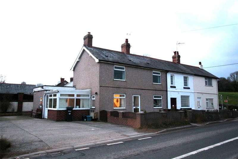 2 Bedrooms Terraced House for sale in Croes Ffordd, Rackery Lane, Caergwrle, Wrexham, LL12