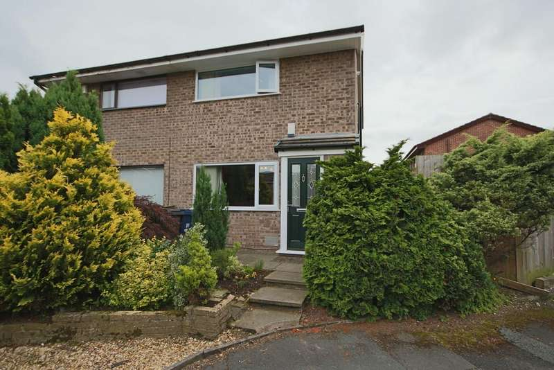 2 Bedrooms Semi Detached House for sale in Nookfield, Leyland, Preston