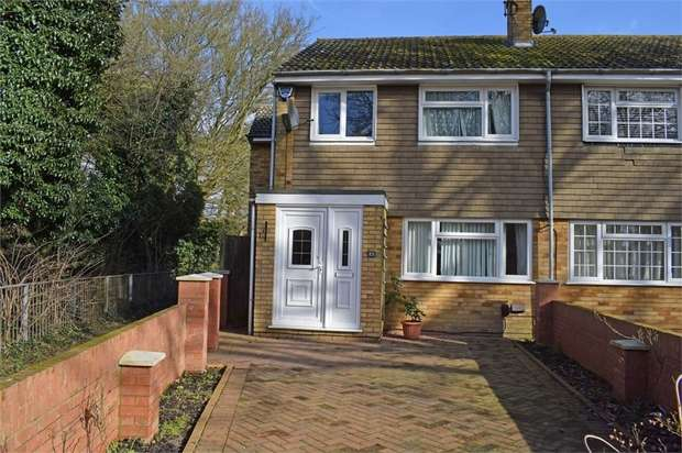 4 Bedrooms End Of Terrace House for sale in Loftus Close, Luton, Bedfordshire