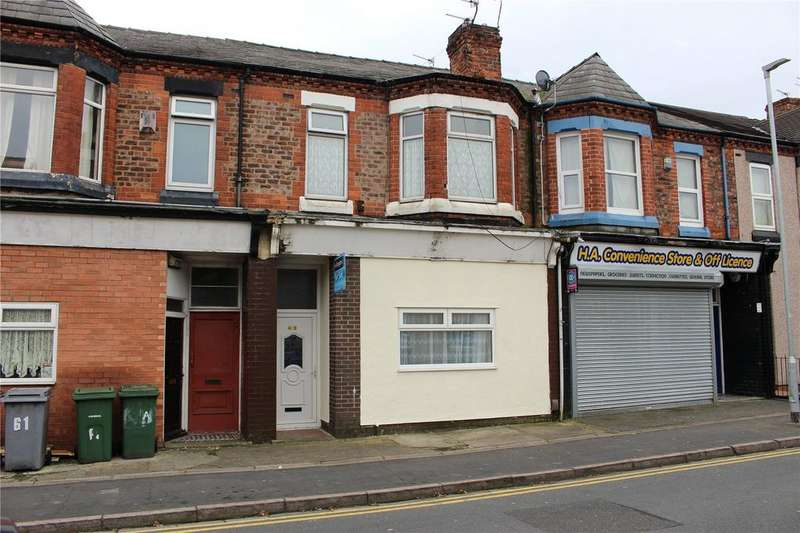 4 Bedrooms Terraced House for sale in Woodchurch Lane, Birkenhead, Merseyside, CH42