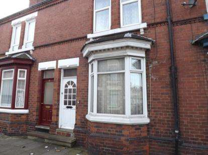2 Bedrooms Terraced House for sale in Cunningham Road, Doncaster