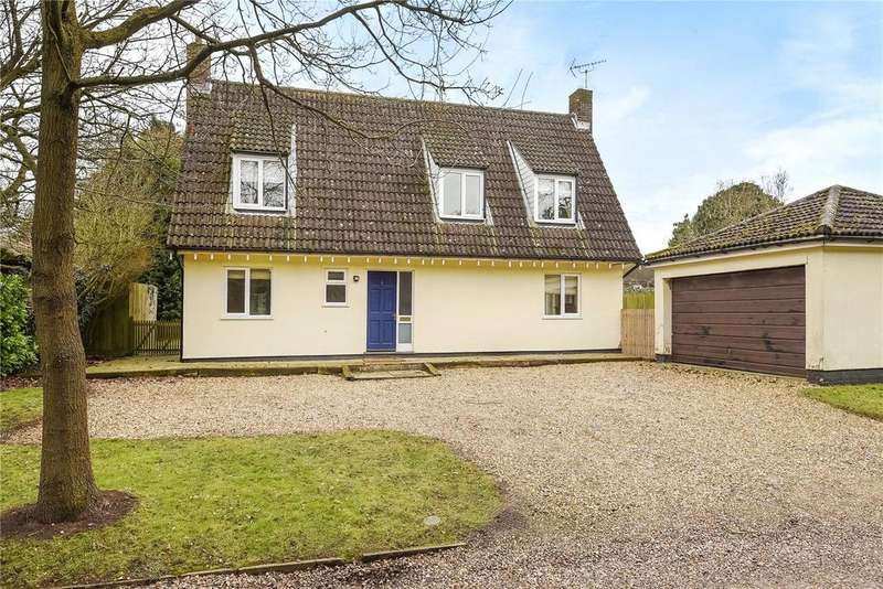 4 Bedrooms Detached House for sale in Rectory Close, Ousden, Newmarket, Suffolk, CB8