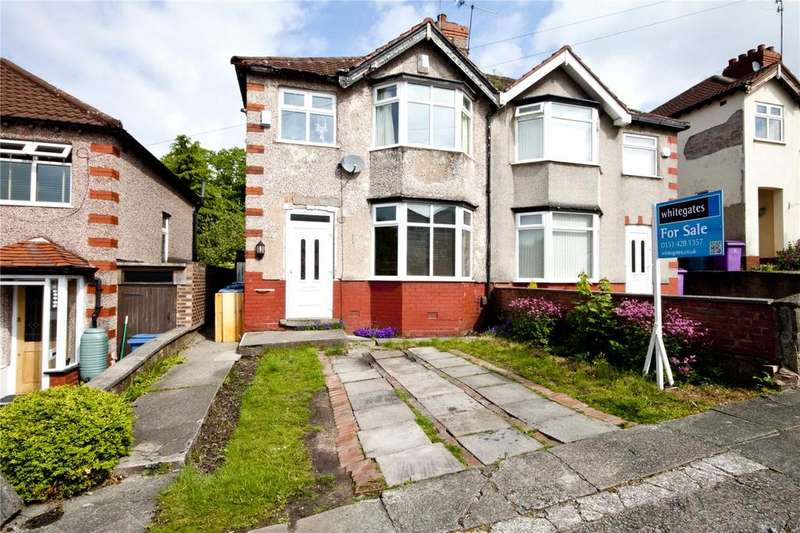 3 Bedrooms Semi Detached House for sale in Linkstor Road, Woolton, Liverpool, L25