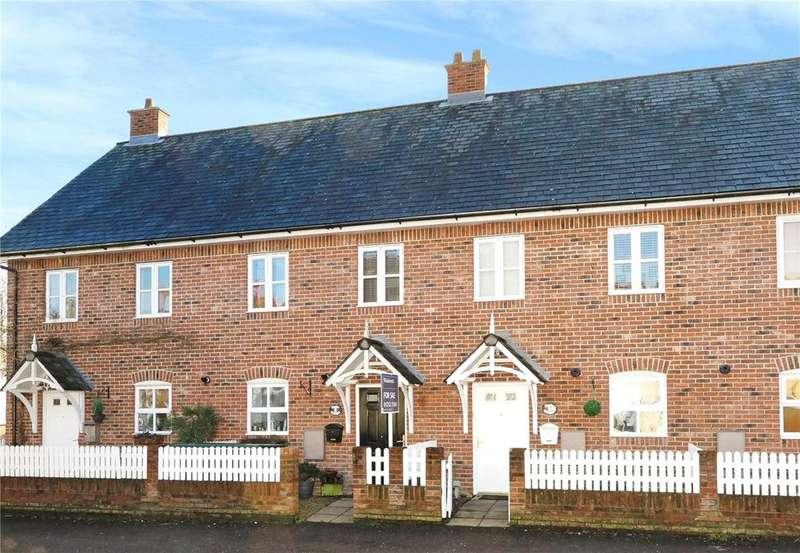 3 Bedrooms Terraced House for sale in Poplar Cottages, Bentley, Farnham, GU10
