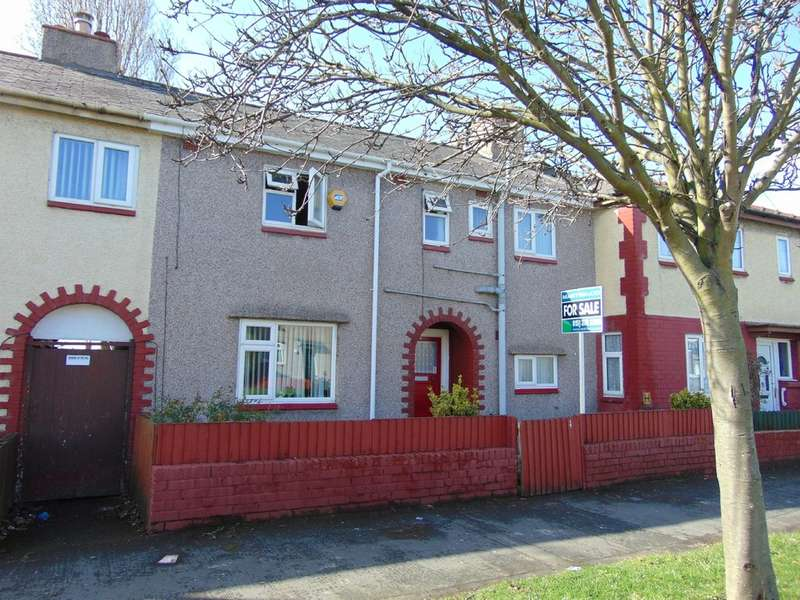 3 Bedrooms Terraced House for sale in Woodstock Road, Wallasey