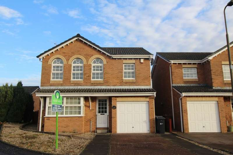 4 Bedrooms Detached House for sale in Longpark Place, Livingston, EH54
