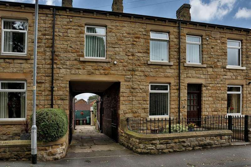 3 Bedrooms Terraced House for sale in St Johns Street, Horbury Bridge