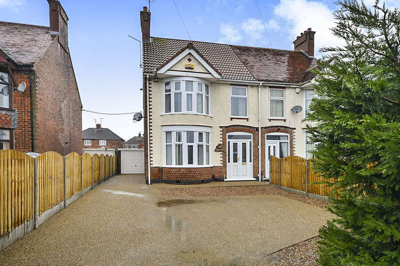 3 Bedrooms Semi Detached House for sale in Sutton Road, Kirkby-In-Ashfield, Nottingham, NG17